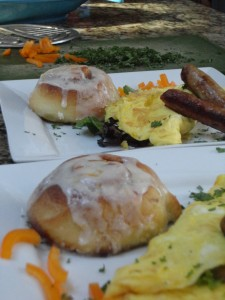 Savory Breakfast at the Captain Freeman Inn