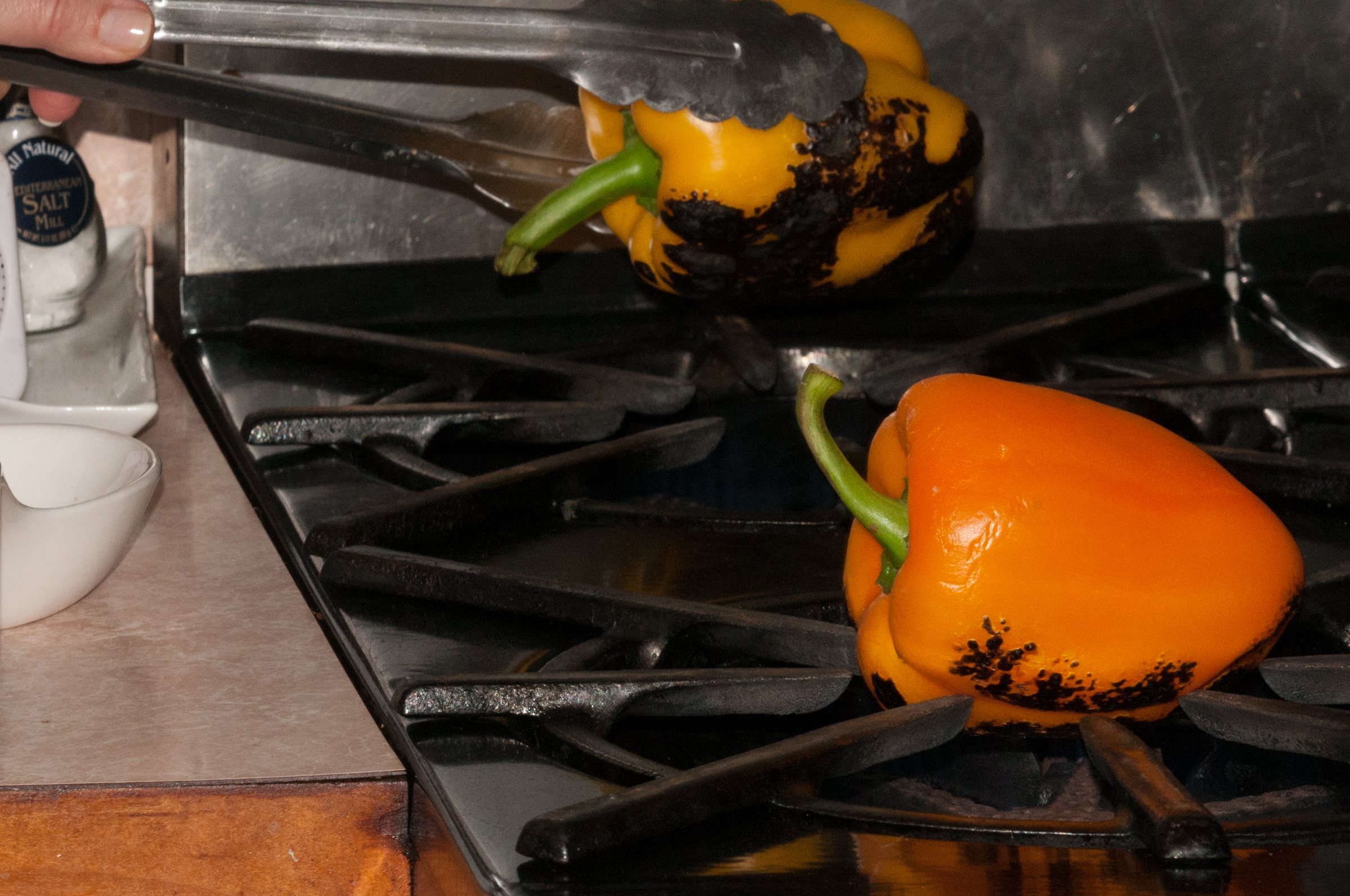 fresh roasted peppers