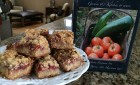 Raspberry Almond Bars at the Captain Freeman Inn