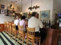 Bar at the Brewster Fish House