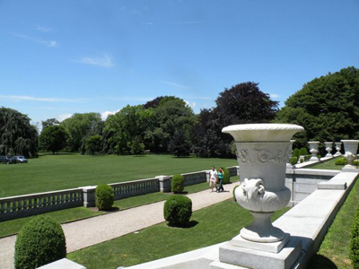 The Elms gardens