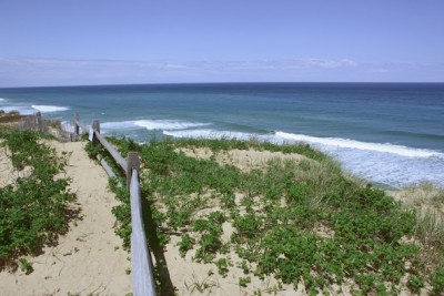 National seashore beach