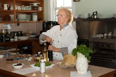 Our wonderful chef, Carol