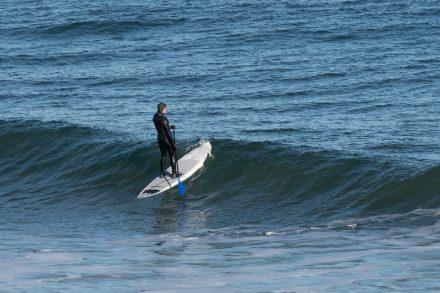 Surfers at Nauset Beach