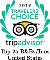 TripAdvisor Traveler's Choice - Top 25 B&Bs and Inns in the USA