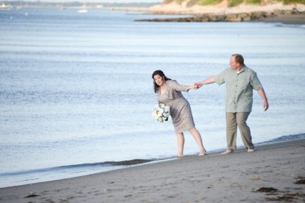 Our daughter gettig married on Saint's Landing