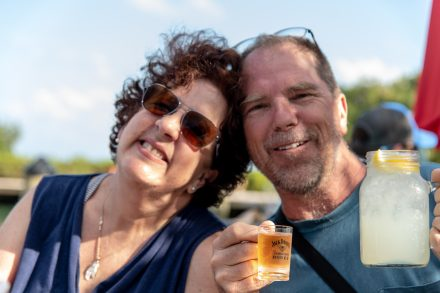 Donna and Byron in the Florida Keys