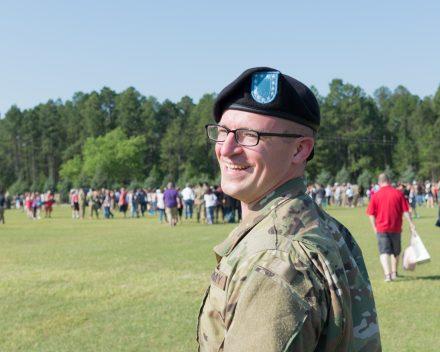 Our son, Nathan Cain at his boot camp graduation