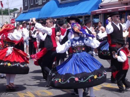 Portugese festival dancers