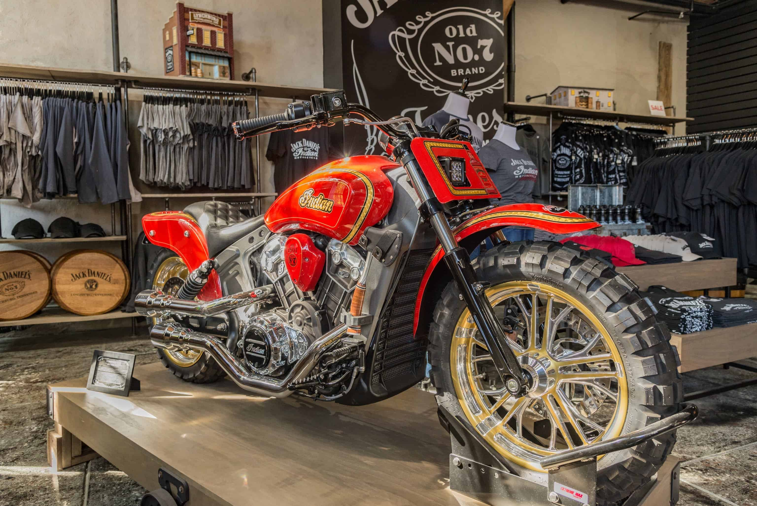 Motorcycle in Nashville